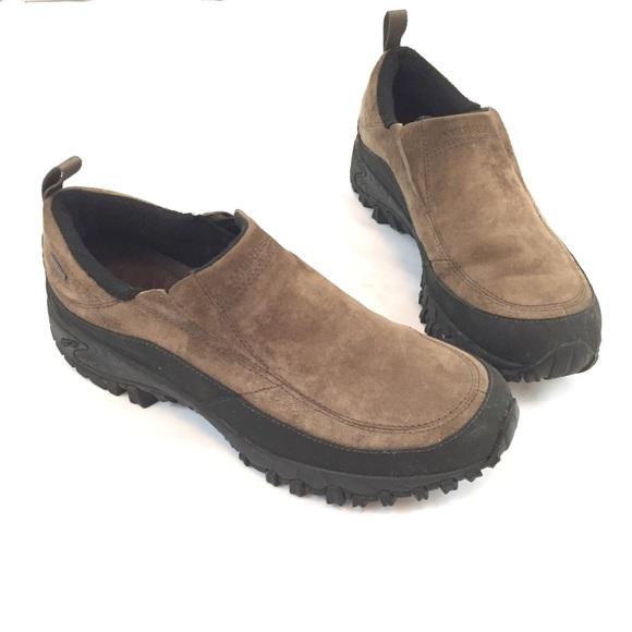 dafb307351 MERRELL Men's Shiver Moc Waterproof Leather Shoe